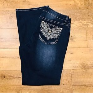 a.n.a Women's Jeans New With Tags 16 Embellished